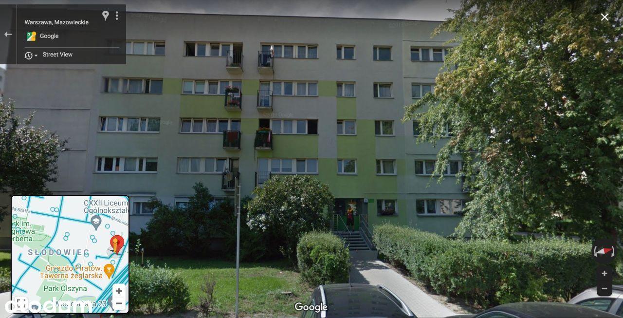 3 pokoje z balkonem na zielonych Bielanach