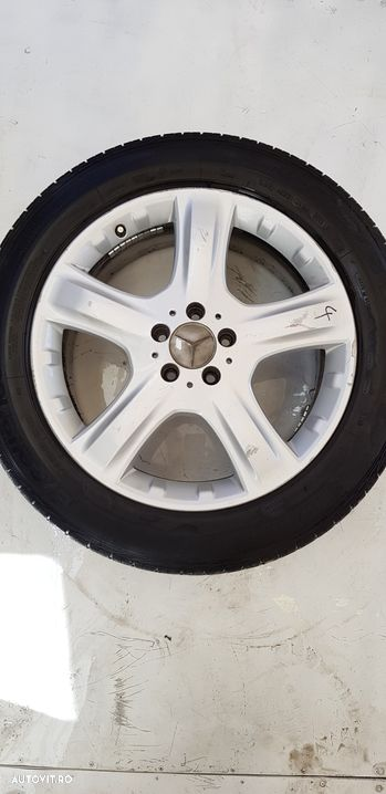 Janta aliaj set 5x112 ,r19 ,vara ,uzate  Mercedes-Benz ML / M-CLASS  - fabricatie:  2005 > ML 320 C - 8