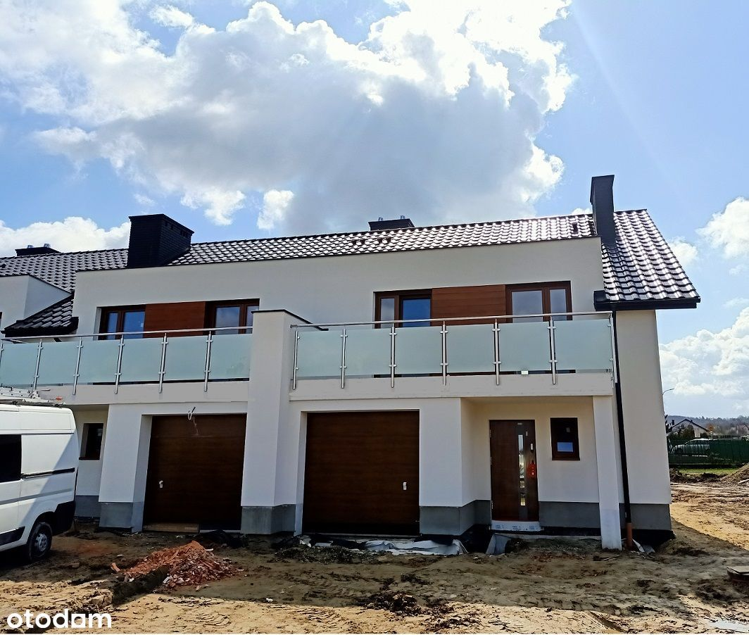 Słocina, 156m², garaż, balkony, 5 pok. działka 3 a