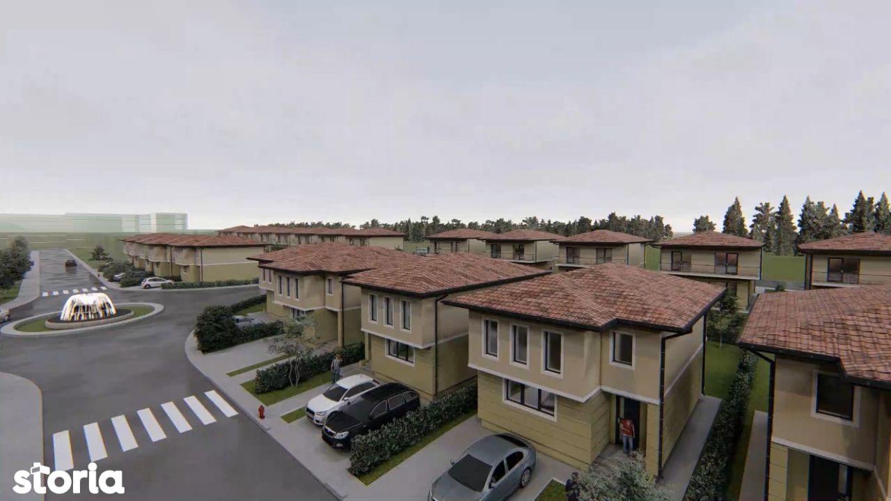 ESQ Village 3, complex de case individuale si duplex, zona Galata