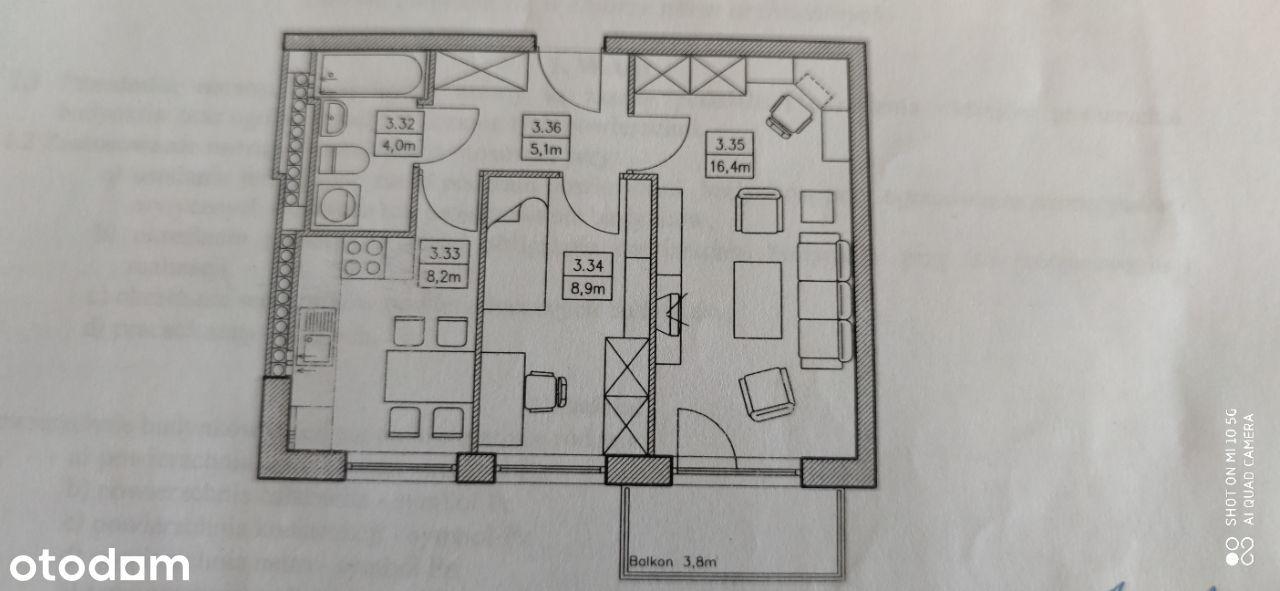2-pokojowe mieszkanie z garażem i komórką Jagodno