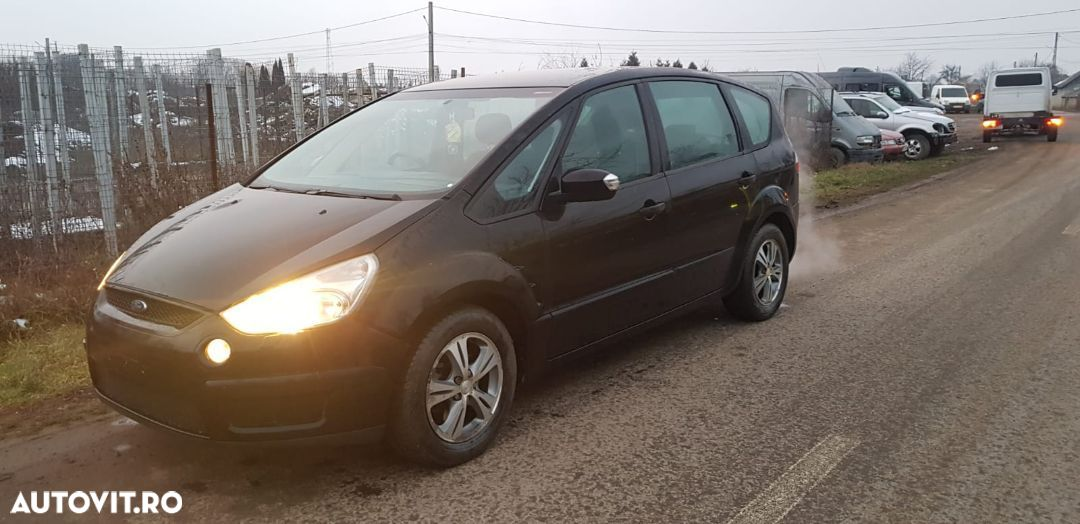 Fulie vibrochen Electroventilator racire Vas expansiune Ford s max an 2006 motor 1.8 TDCI tip QYWA - 3