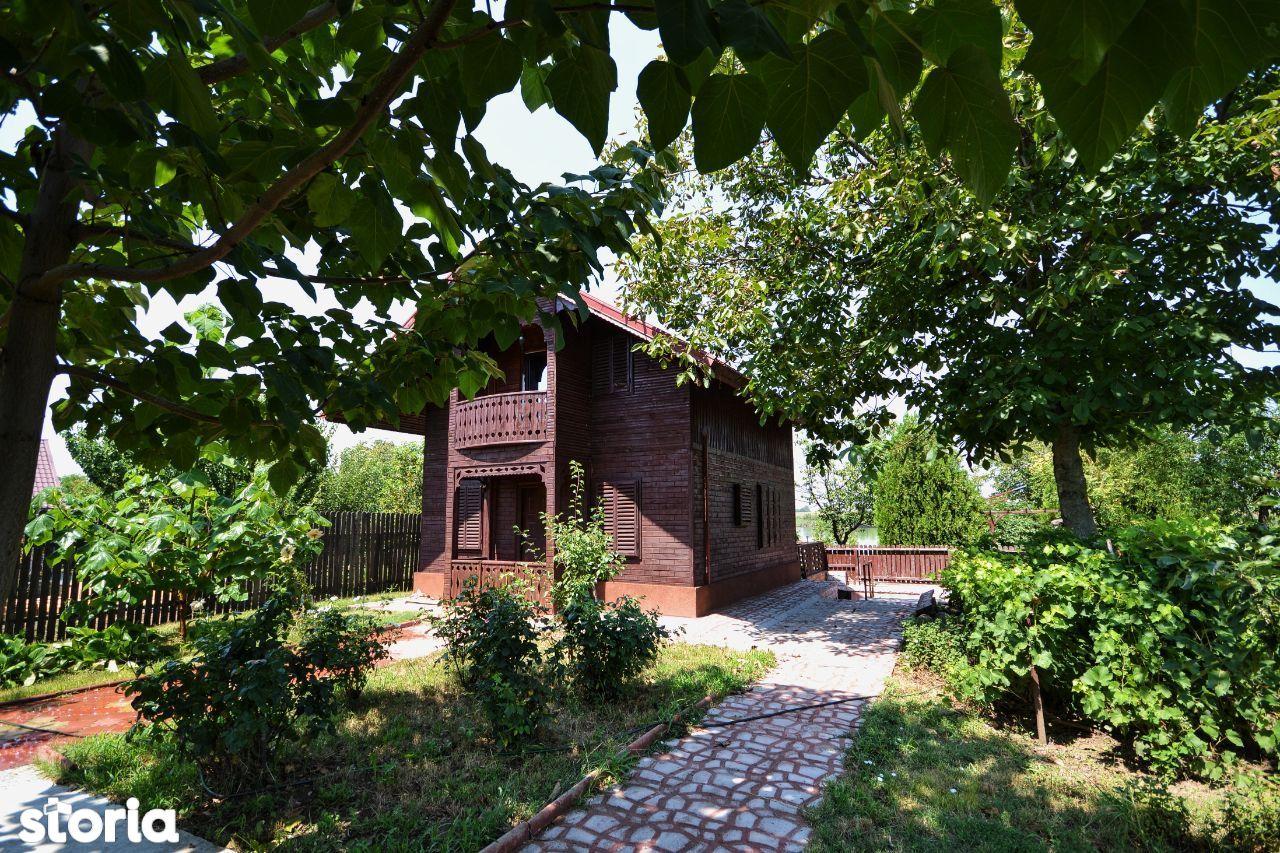Casa Curcani, Calarasi, vedere lac, 30 min Bucuresti, casa de vacanta