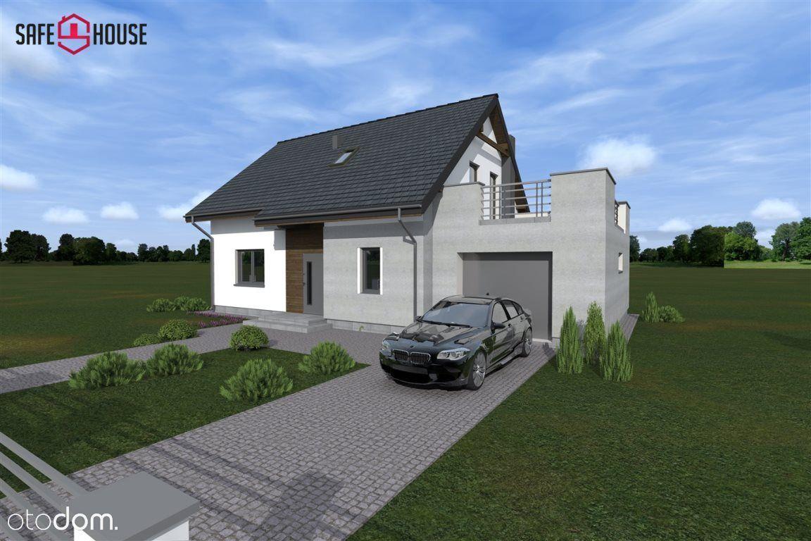 Dom w stanie deweloperskim ,spokojna okolica.