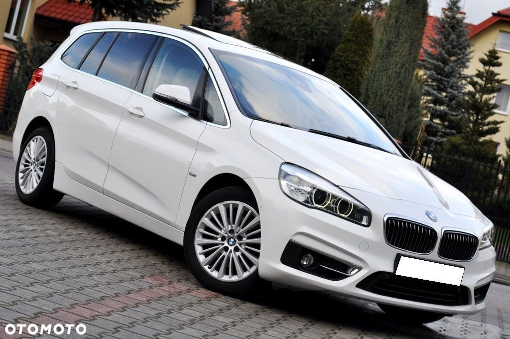 BMW Seria 2 LUXURY Gran Tourer 2.0d 150KM Panorama Kamera Head Up Pamięć Fotela - 9