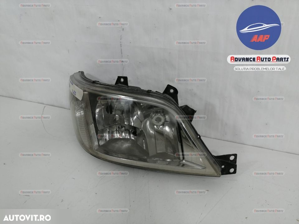 Far dreapta Mercedes Sprinter 1996-2000  cu halogen originala - 4