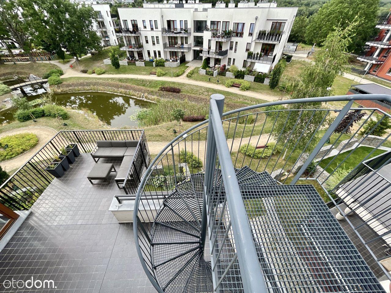 Park Ostrowska - mieszkanie 3 pokojowe z tarasami