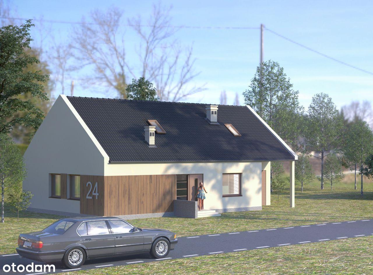 Dom jednorodzinny wolnostojący działka 650 m2