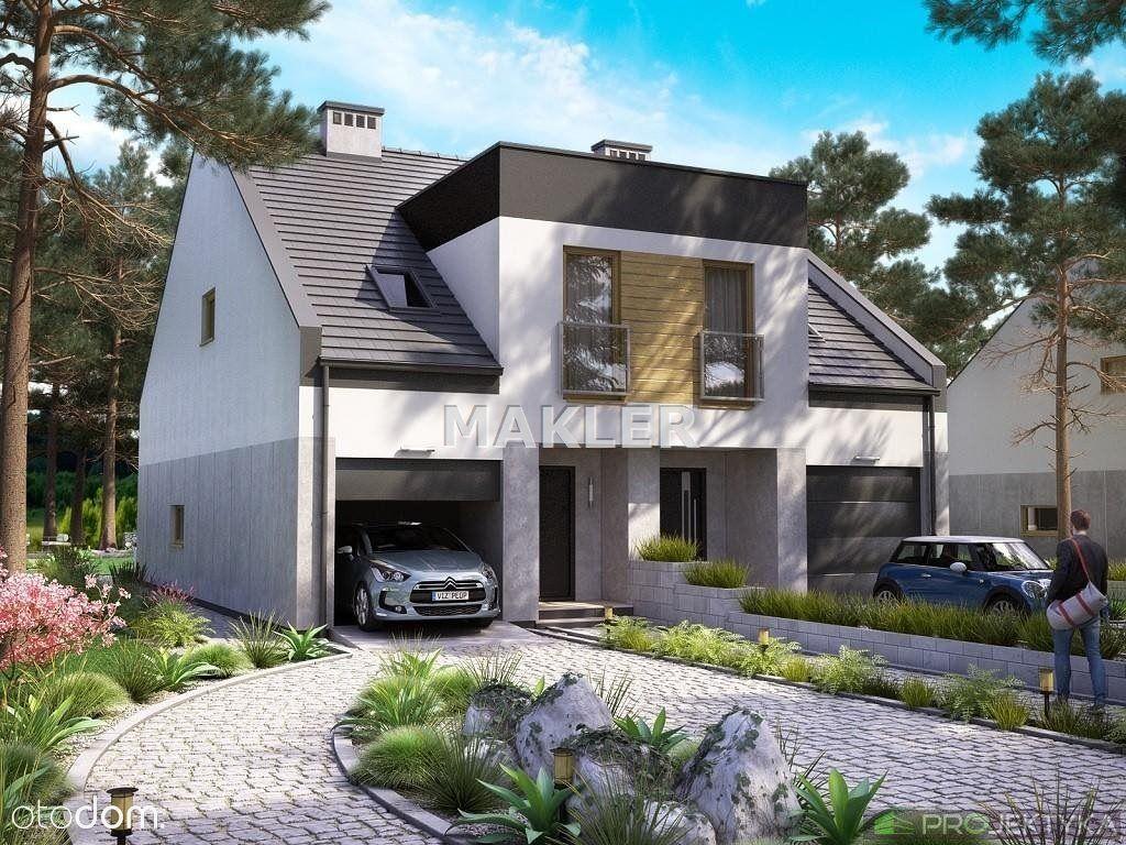 Dom bliźniak w Łochowicach 134m3
