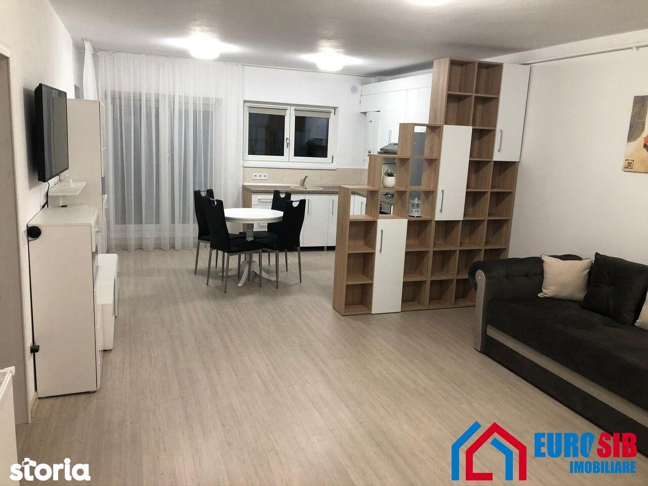 Apartament cu 2 camere de închiriat în Sibiu zona Calea Cisnadiei