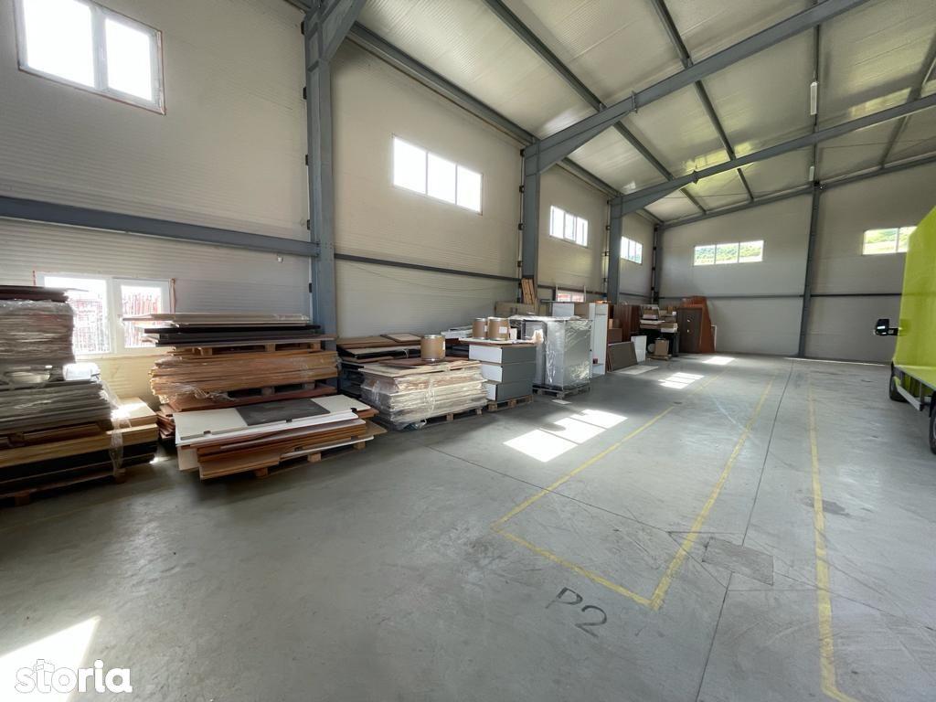 Hala industriala de inchiriat 600mp, Floresti