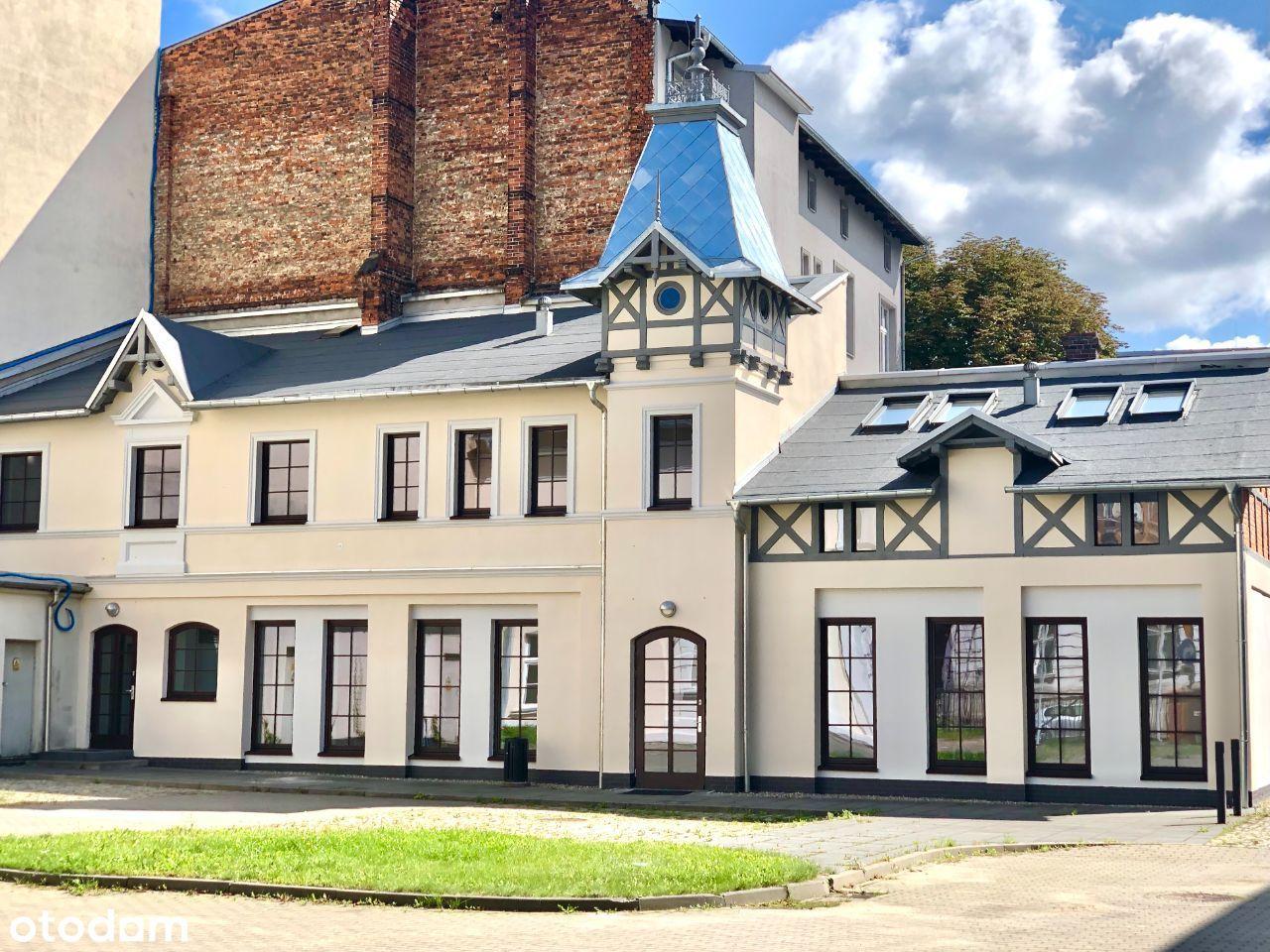 Zabytkowy budynek do wynajęcia w centrum Gliwic