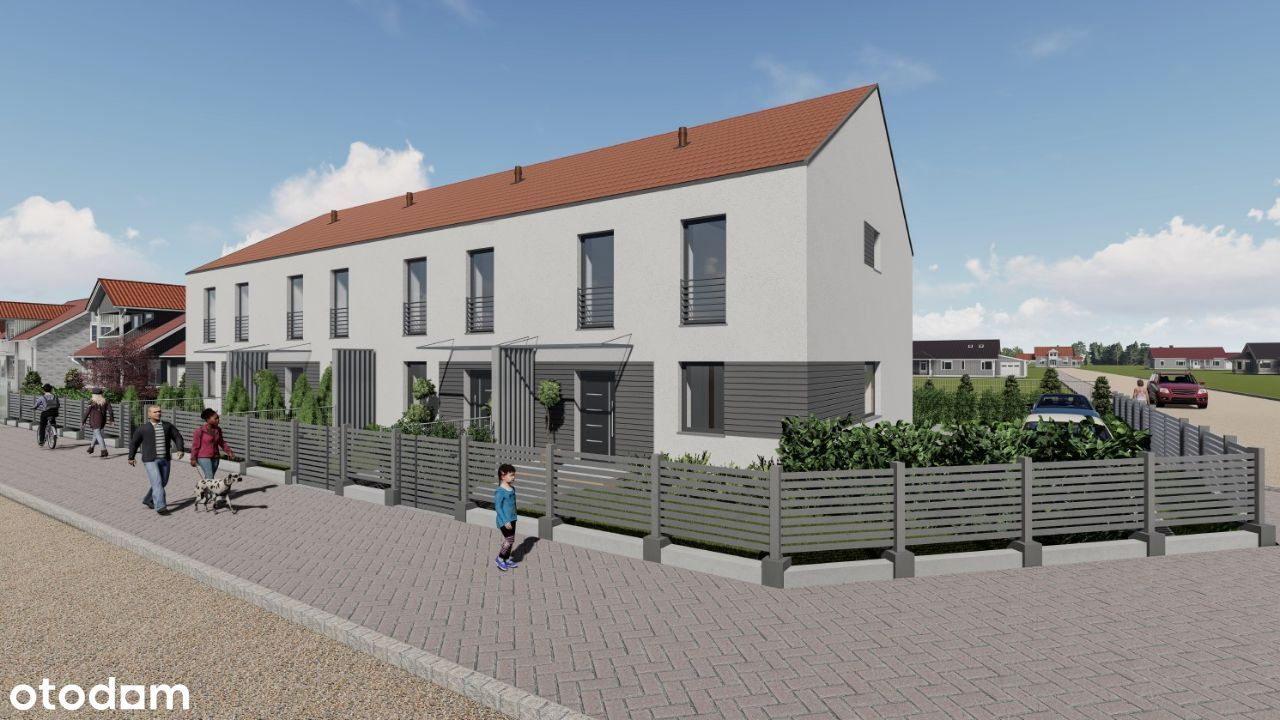 Kapitańska Eco - domy szeregowe