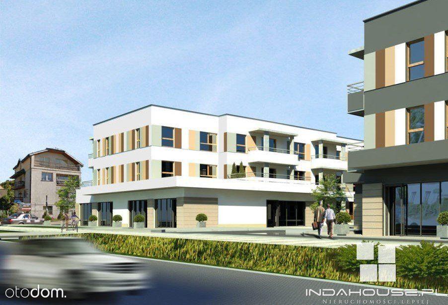 Nowe, 2 pokojowe mieszkanie na parterze, balkon