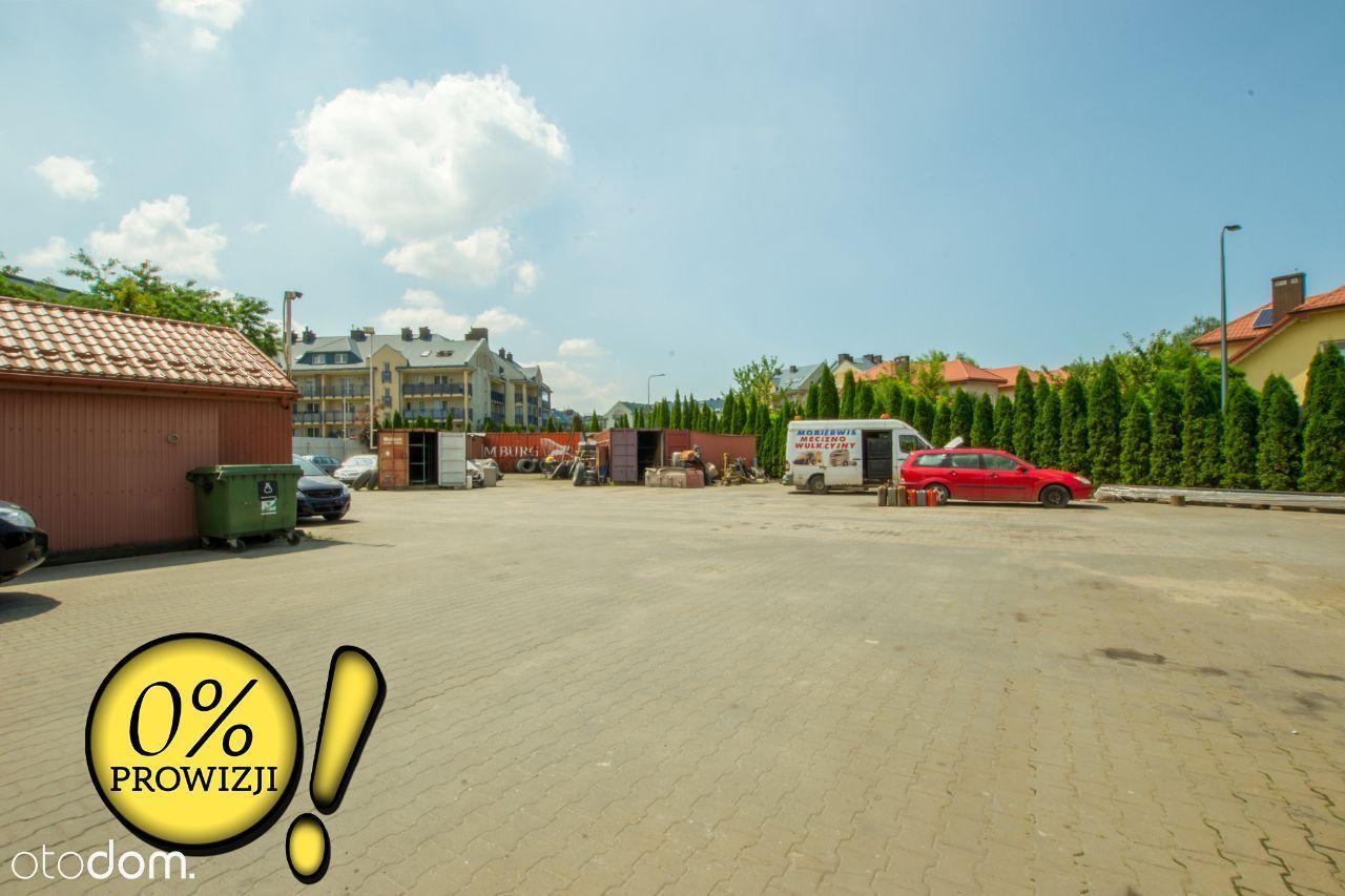 Plac 1500m2 + Magazyn 164m2 + Lokal 240m2
