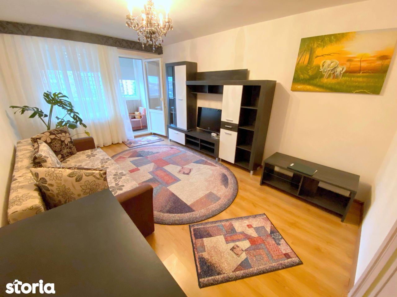 Apart. 2 camere, decomandat, mobilat modern, in Gheorgheni, zona Diana