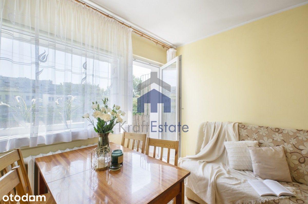 Osiedle Reja, 45m2+balkon+2 pokoje+ piwnica