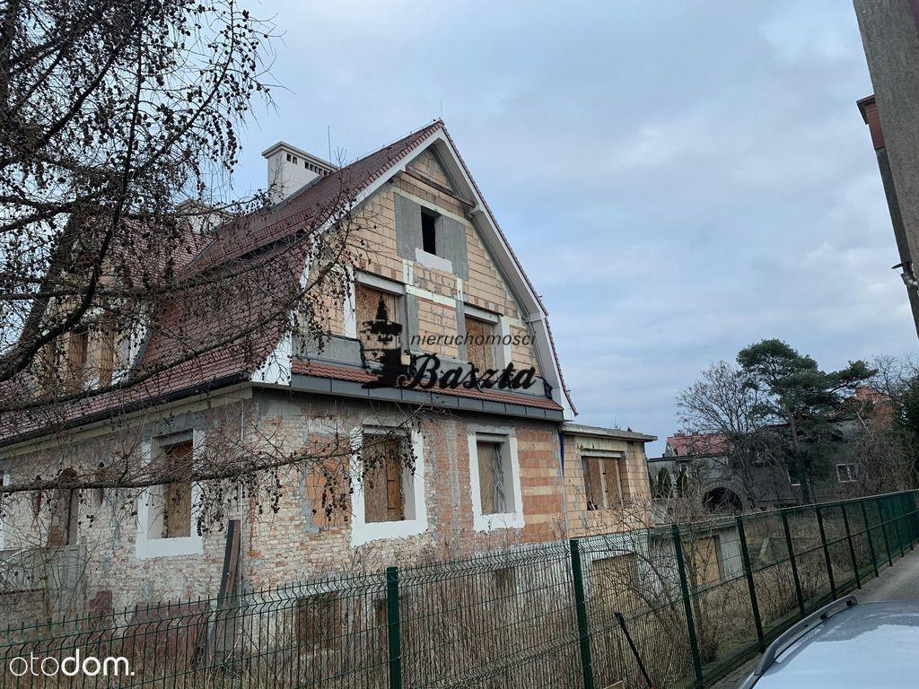 Działka z domem wolnostojącym w pobliżu Odry.