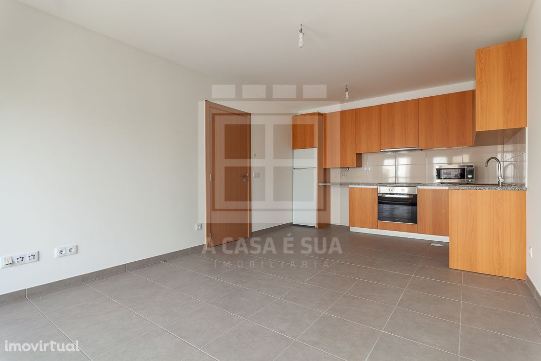 Apartamento T1 no centro de Pardilhó