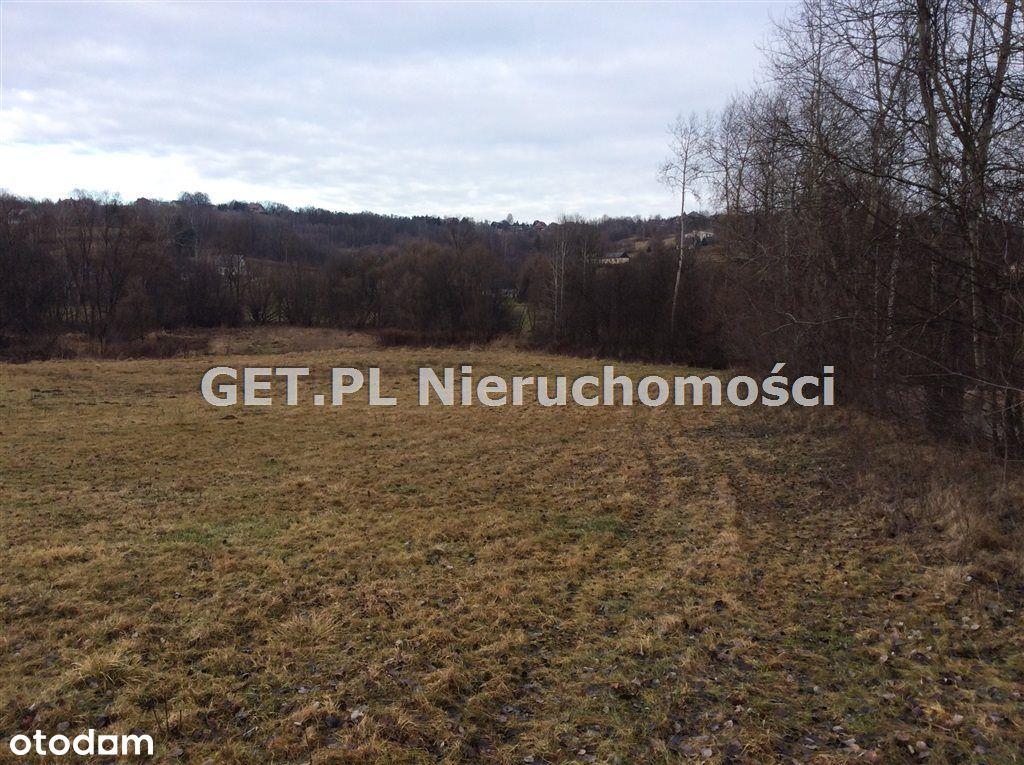 Działka rolno-budowlana przy lesie w Głogoczowie