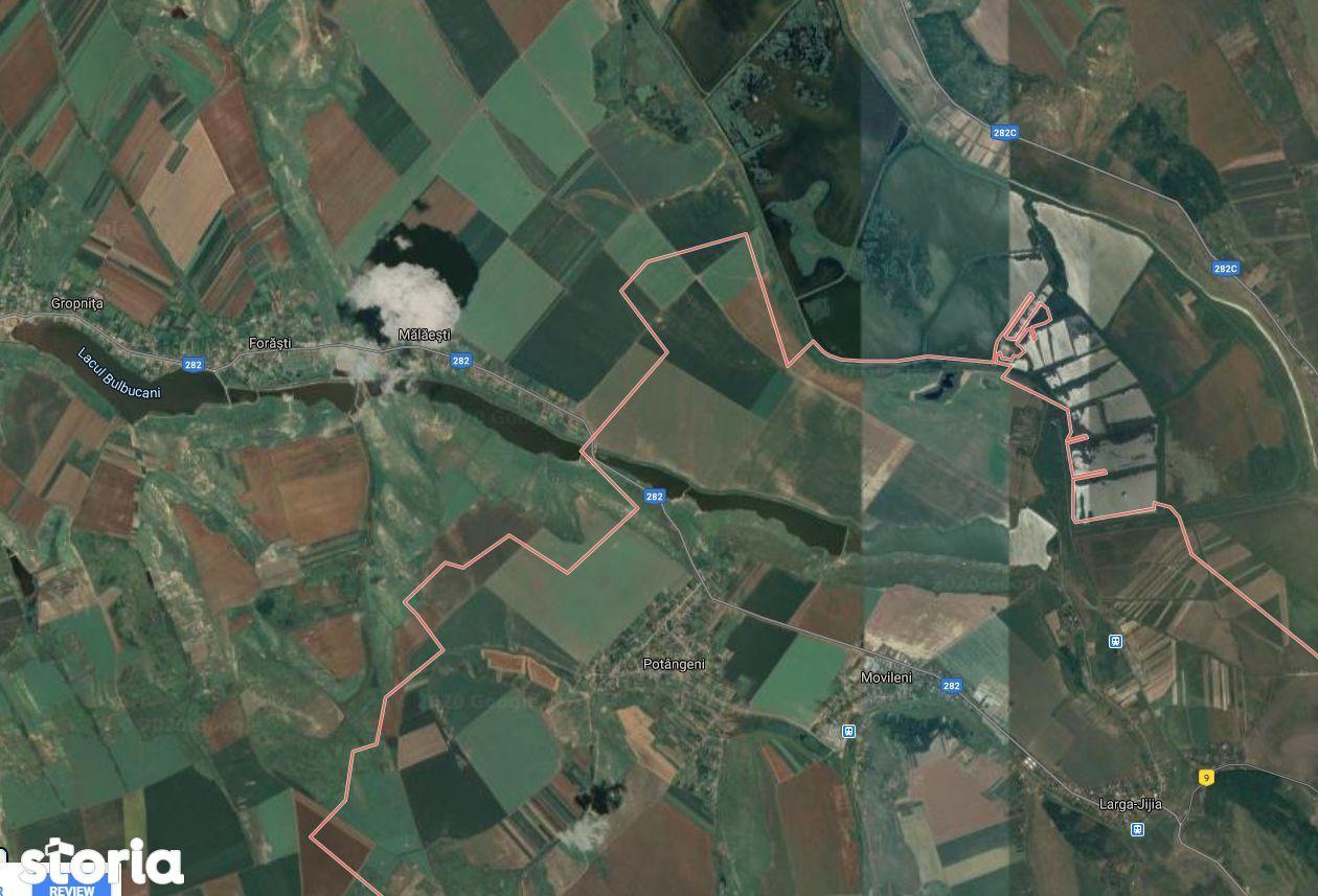 teren arabil 12 ha compact asfalt