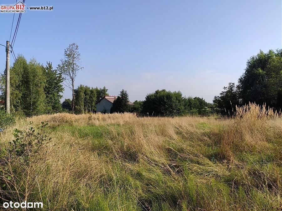 Działka, 1 500 m², Bodzanów