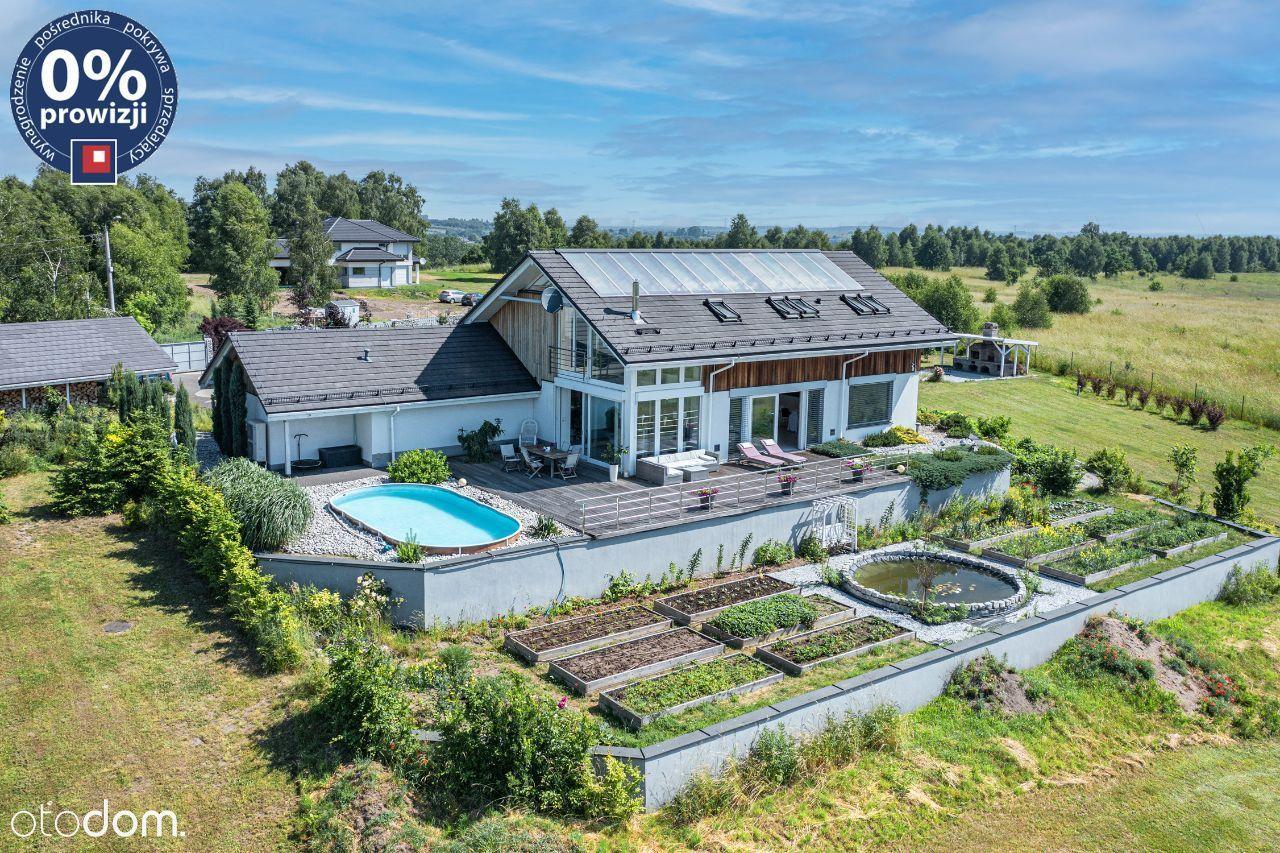 Piękny dom z fantastycznym widokiem | Malinowice.