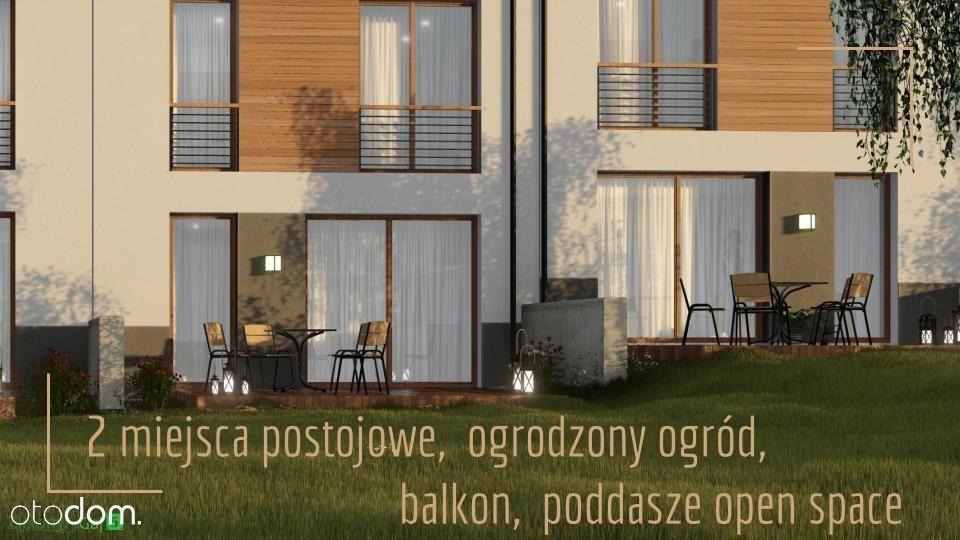 Wyjątkowy Dom 80m2 ( 121m2) - Ogród + 2xm. postoj.