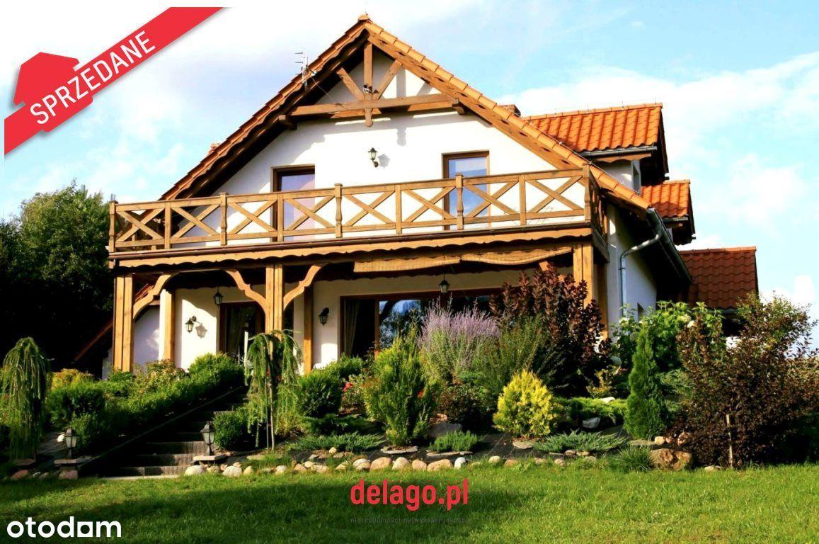 Klimatyczny mazurski dom z dojściem do jeziora