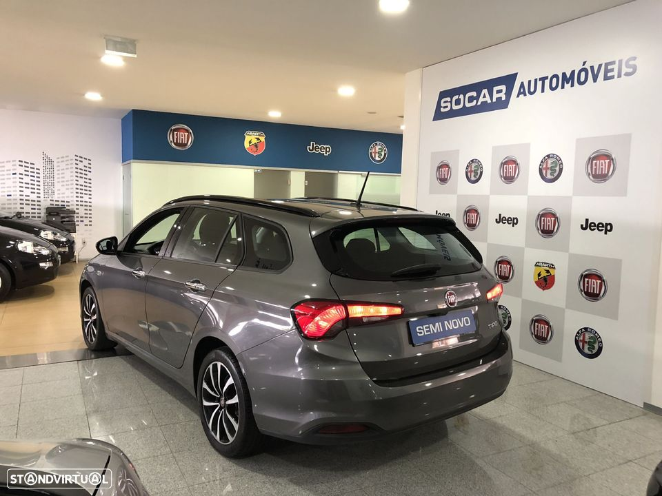 Fiat Tipo Station Wagon 1.3 MJ LOUNGE XENON LED GPS NACIONAL - 6