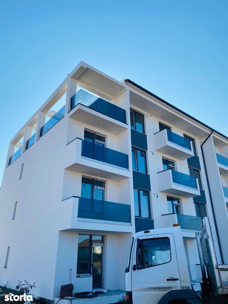 Apartament 3 camere in Selimbar , etaj 3 , parare inclusa