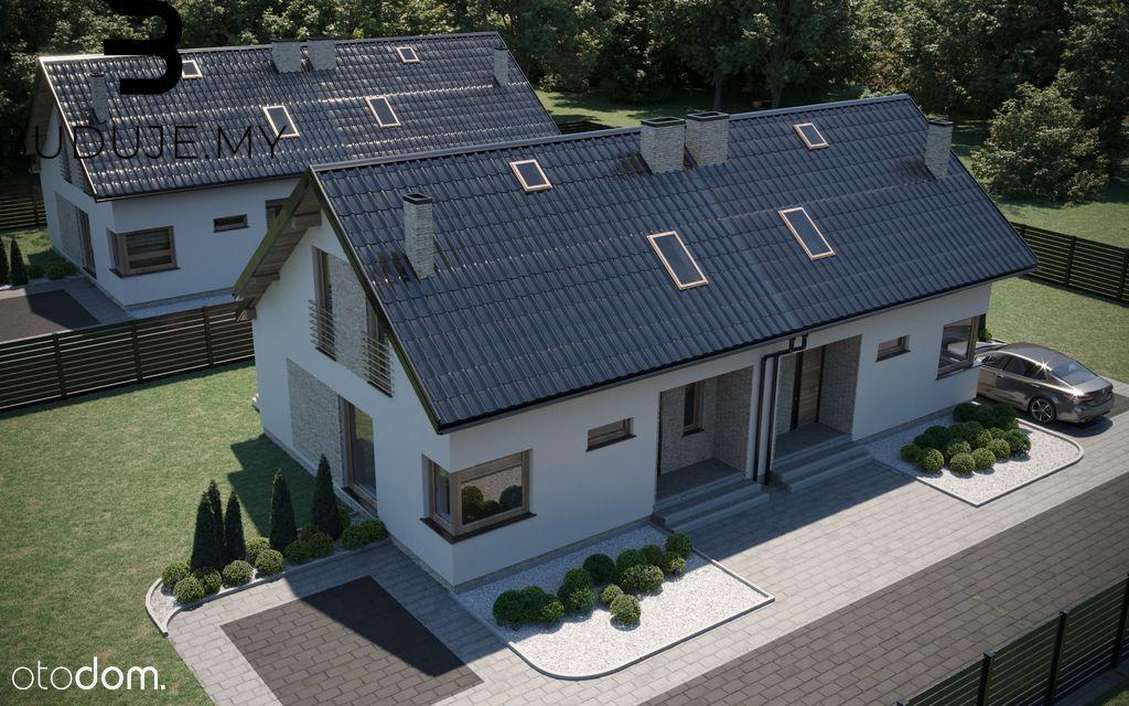 Dom w zabudowie bliźniaczej- Łąka- 90m2