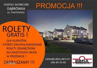 PROMOCJA z ogrodem 76m2 Dąbrówka Piastowska 16A/2