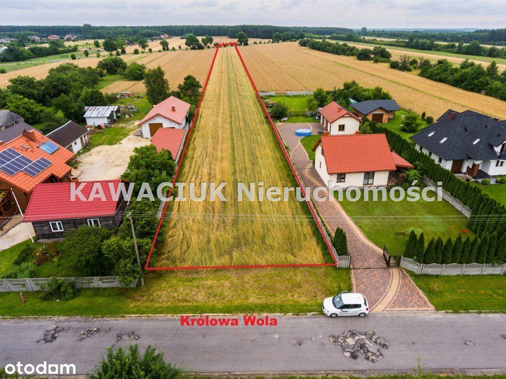 Działka w Królowej Woli, gminie Inowłódz