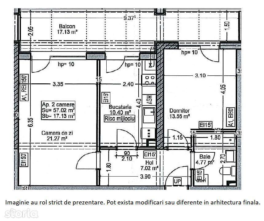 Apartament 2 camere Titan  -AUCHAN TITAN
