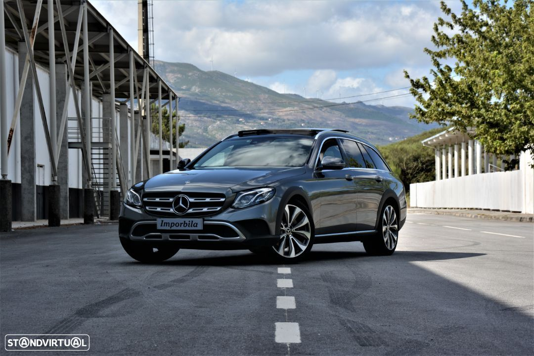 Mercedes-Benz E 220 d 4-Matic All-T.Avantgarde - 2