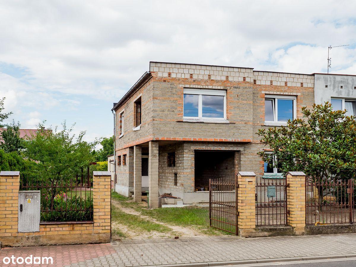 Przeźmierowo/dwa domy na jednej działce