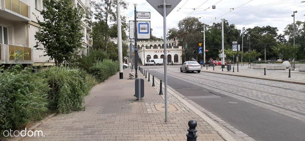 Wrocław, przy Wzgórzu Partyzantów (2pokoje)
