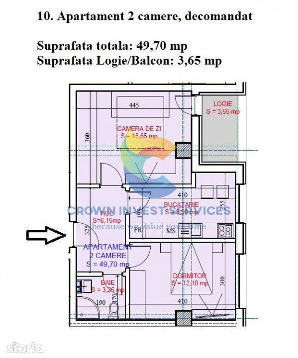 Apartament 2 camere, decomandat, Tudor, etajul 1, liber