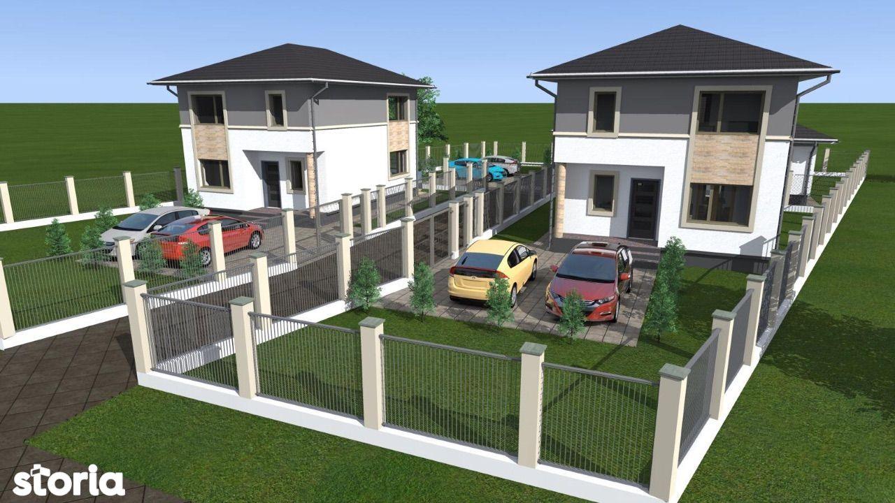 Proiect o casa pe un nivel si una P+1, Zona Drumul Sigmirului