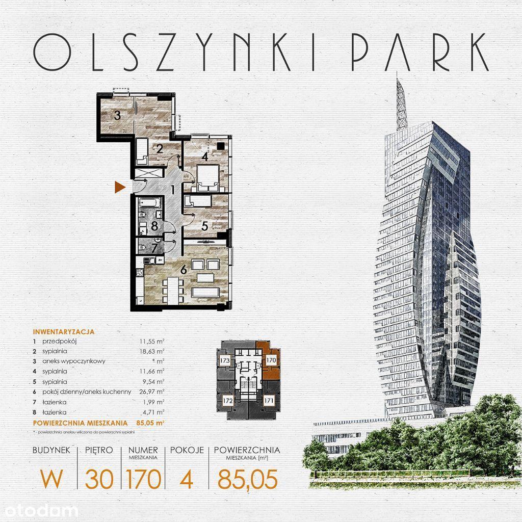 Olszynki Park - Apartament W170