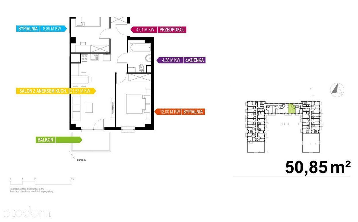 Nowoczesny Apartament 51m2, TYLKO U NAS Rabaty!