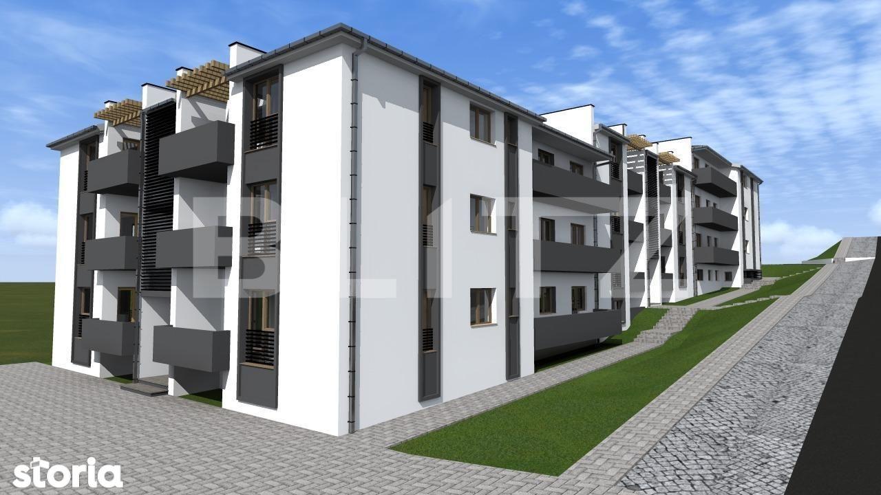 Exclusivitate! Apartament 2 camere, etaj intermediar, Apahida