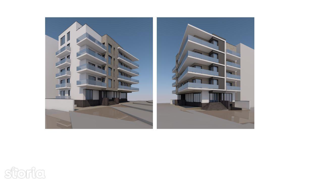 Mamaia Nord-Mackerel, apartament 2 camere cu vedere laterala spre mare