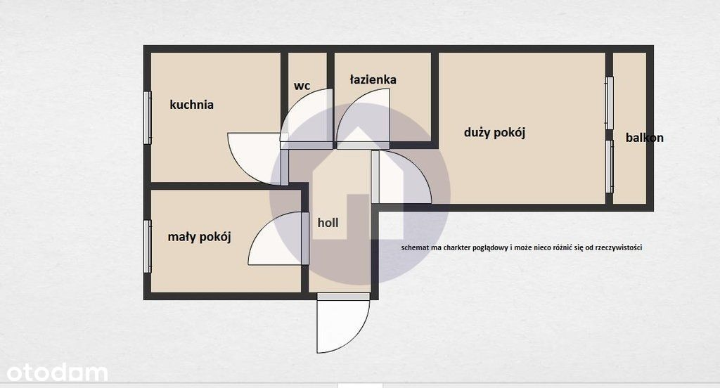 2 pokoje w bloku na Podzamczu