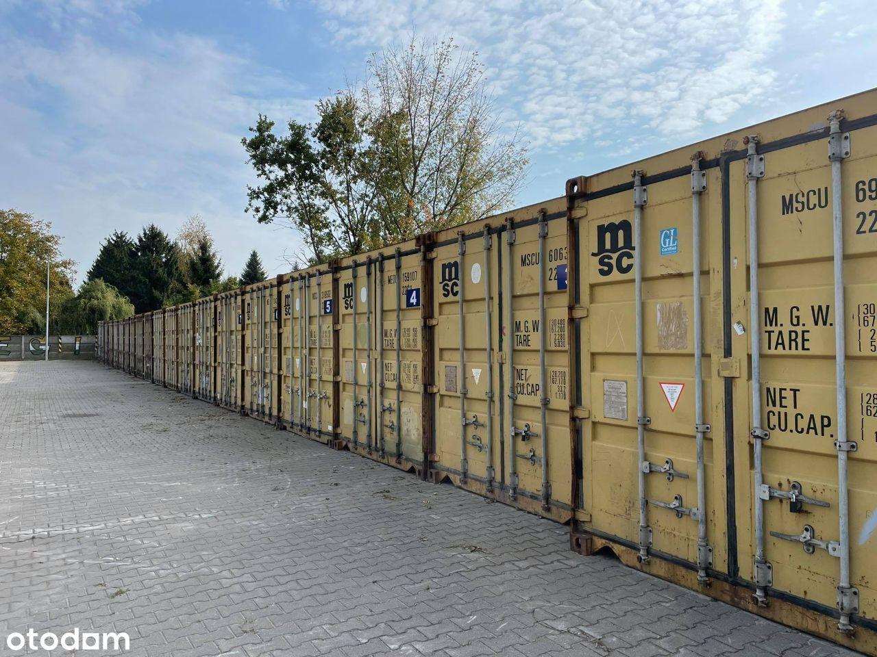kontener magazyn 14 m2, monitoring, alarm
