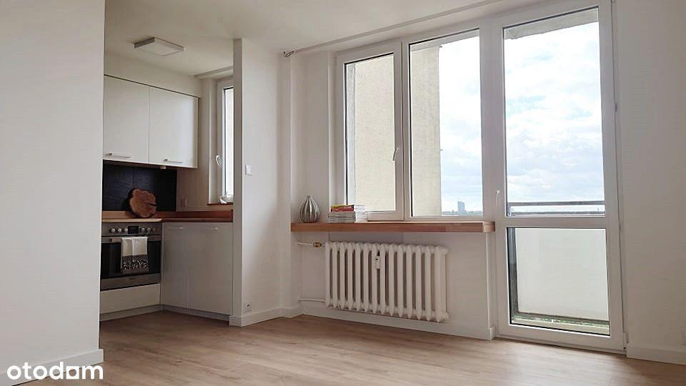 Mieszkanie z widokiem na Waszawę, 27,20m2