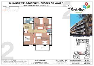 Mieszkanie A1.M07 Poznań Śródka OdNowa 2