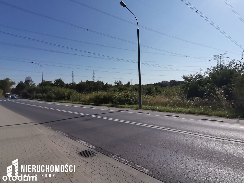 Działka przemysłowa o pow. 95,09 ar w Skawinie