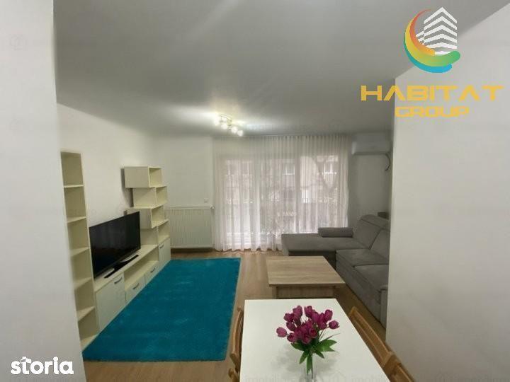 Apartament mobilat si utilat, centrala proprie, 4 minute metrou!!!